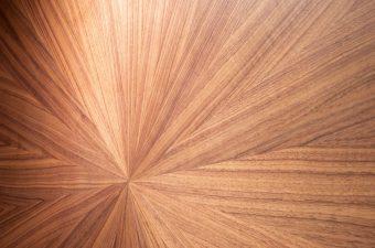 Roundwoodentablecloseup